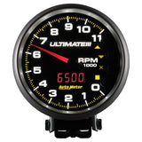 "AutoMeter - 5"" TACHOMETER, 0-11,000 RPM, PEDESTAL, ULTIMATE III PLAYBACK, BLACK (6888)"
