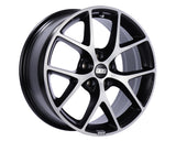 BBS - SR 19x8.5 5x114.3 35 Volcano Grey w/Diamond Cut Face (SR039VGPK)