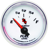 "AutoMeter - 2-1/16"" FUEL LEVEL, 240-33 Ω, AIR-CORE, SSE, C2 (7116)"
