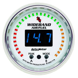 "AutoMeter - 2-1/16"" WIDEBAND PRO AIR/FUEL RATIO 6:1-20:1 AFR C2 (7178)"