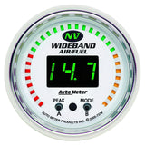 "AutoMeter - 2-1/16"" WIDEBAND PRO AIR/FUEL RATIO, 6:1-20:1 AFR, NV (7378)"