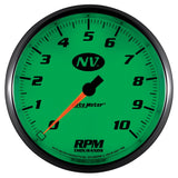 "AutoMeter - 5"" IN-DASH TACHOMETER, 0-10,000 RPM, NV (7498)"