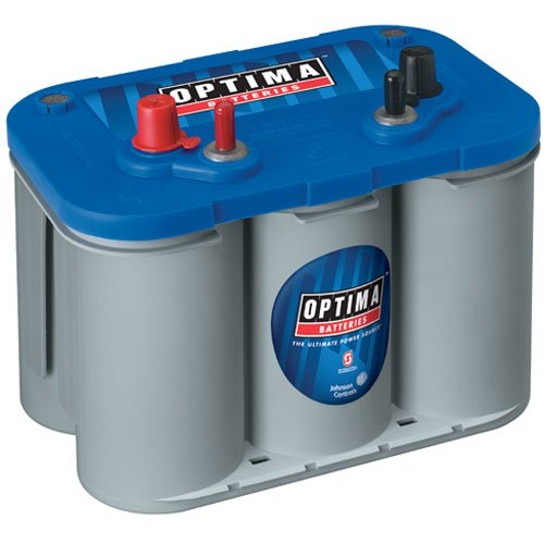 Optima Batteries - BlueTop Marine 4-Post Battery Model D34M (753-9016-103)