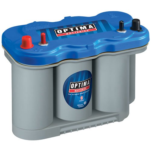 Optima Batteries - BlueTop Marine 4-Post Battery Model D27M  (753-9027-127)