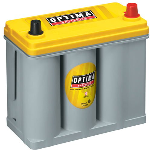 Optima Batteries - YellowTop Deep-Cycle Battery 12 Volts (753-9073-167)