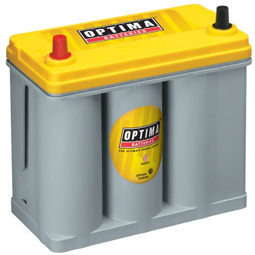 Optima Batteries -  YellowTop Deep-Cycle Battery 12 Volts (753-9171-767)