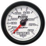 "AutoMeter - 2-1/16"" WATER TEMPERATURE, 140-280 °F, 6 FT., MECHANICAL, PHANTOM II (7531)"