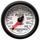 "AutoMeter - 2-1/16"" PYROMETER, 0-2000 °F, STEPPER MOTOR, PHANTOM II (7545)"