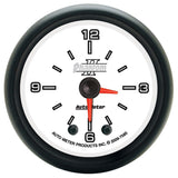 "AutoMeter - 2-1/16"" CLOCK, 12 HOUR, PHANTOM II (7585)"