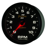"AutoMeter - 5"" IN-DASH TACHOMETER, 0-10,000 RPM, PHANTOM II (7598)"