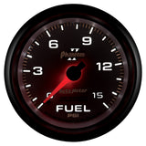 "AutoMeter - 2-5/8"" FUEL PRESSURE, 0-15 PSI, MECHANICAL, PHANTOM II (7811)"