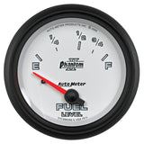 "AutoMeter - 2-5/8"" FUEL LEVEL, 73-10 Ω, AIR-CORE, PHANTOM II (7815)"