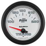 "AutoMeter - 2-5/8"" TRANSMISSION TEMPERATURE, 100-250 °F, AIR-CORE, PHANTOM II (7857)"