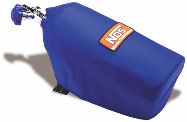 Nitrous Oxide System - NOS Bottle Blanket for 10 lb. Bottle in Blue Nylon (14165NOS)