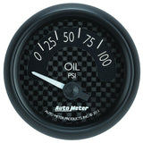"AutoMeter - 2-1/16"" OIL PRESSURE, 0-100 PSI, AIR-CORE, GT (8027)"