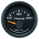 "Auto Meter - 2-1/16"" TRANSMISSION TEMPERATURE, 100-250 °F, AIR-CORE, GM FACTORY MATCH (8349)"