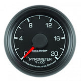 "Auto Meter - 2-1/16"" PYROMETER, 0-2000 °F, STEPPER MOTOR, FORD FACTORY MATCH (8445)"