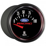 "Auto Meter - 2-1/16"" OIL PRESSURE, 0-100 PSI, AIR-CORE, FORD RACING (880076)"