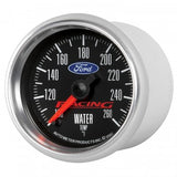 "Auto Meter - 2-1/16"" WATER TEMPERATURE, 100-260 °F, STEPPER MOTOR, FORD RACING (880086)"