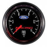 "Auto Meter - 2-1/16"" FUEL PRESSURE, 0-15 PSI, STEPPER MOTOR, FORD RACING (880107)"