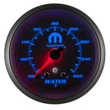 "AutoMeter - 2-5/8"" WATER TEMPERATURE, W/ PEAK & WARN, 100-260 °F, STEPPER MOTOR, WHITE, MOPAR (880250)"