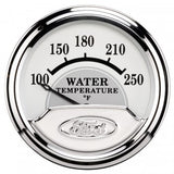 "Auto Meter - 2-1/16"" WATER TEMPERATURE, 100-250 °F, AIR-CORE, FORD MASTERPIECE (880353)"