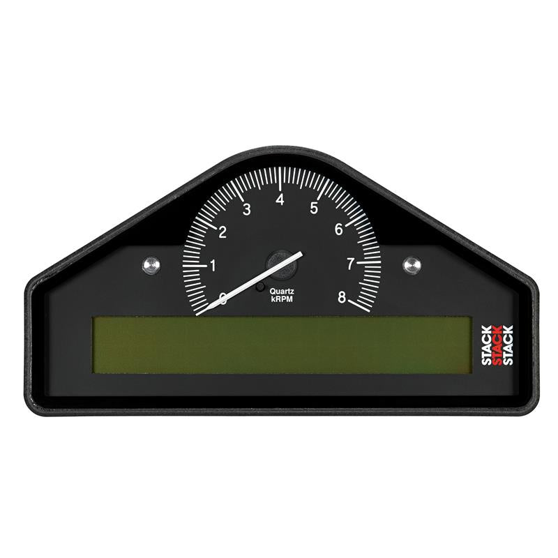 AutoMeter - RACE DISPLAY, PRE-CONFIGURED, BLACK, 0-8K RPM (BAR, DEG. C, KM/H)  (ST8100-A-EC)