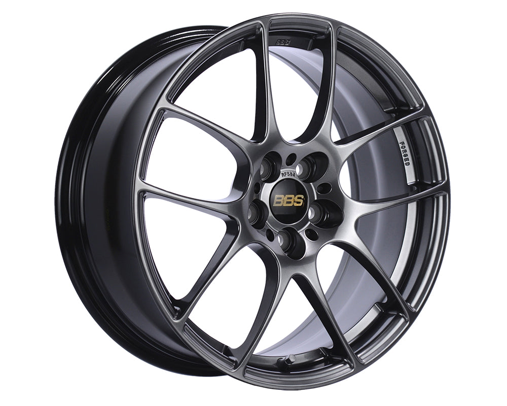 BBS - RF 17x7.5 5x112 45 Diamond Black (RF505DBK)