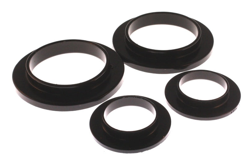 ENERGY SUSPENSION - Coil Spring Isolators 1979-04 Ford Mustang Rear Set Black Isolators (4-6101G)