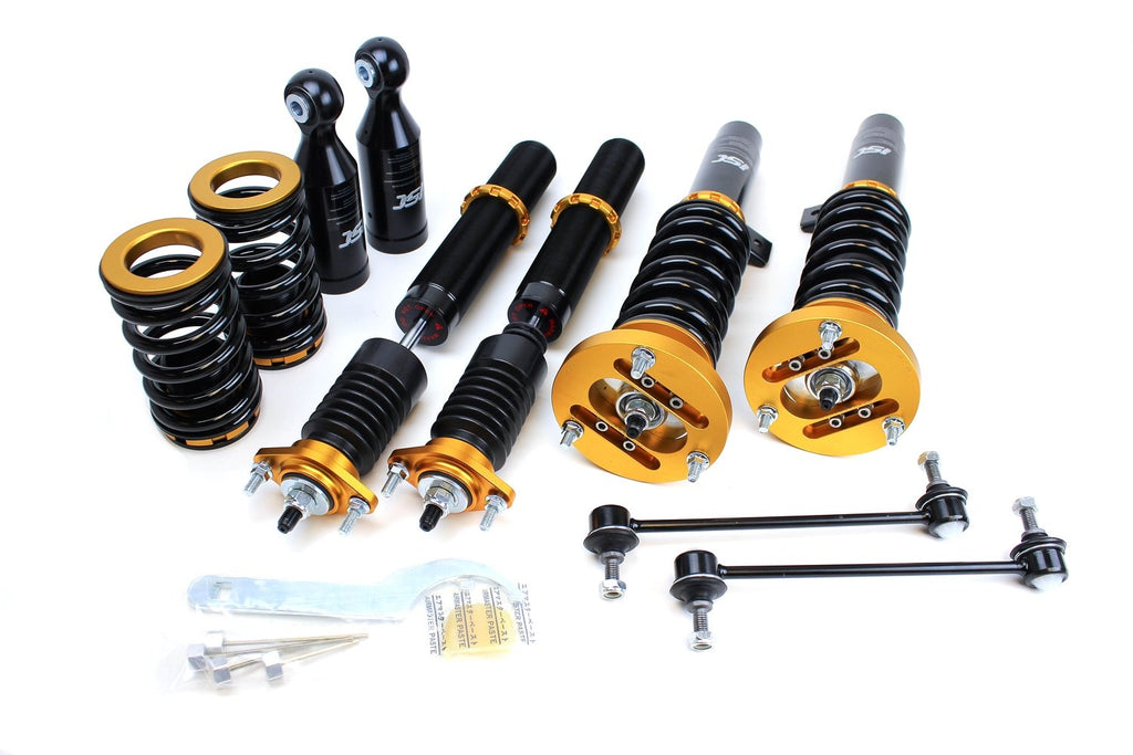 ISC Suspension - BMW E46 325i/328i/330i/M3 00-05 ISC Basic Coilover Suspension (B003B-1)