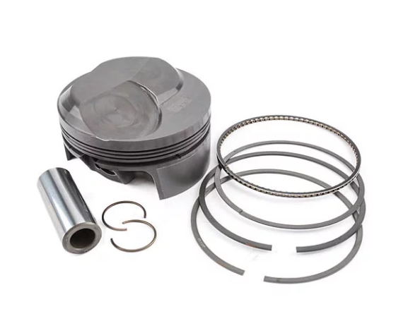 MAHLE PISTONS - Motorsports Pistons Big Block Chevy PowerPak Piston & Ring Kit Forged 4032 High Silicon Low Expansion Aluminum Alloy,Bore: 4.530