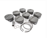 "MAHLE PISTONS - Motorsports Pistons Big Block Chevy PowerPak Piston & Ring Kit Forged 4032 High Silicon Low Expansion Aluminum Alloy,Bore: 4.600"" (BBC270600F03)"