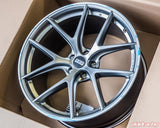 BBS - CI-R 20x10.5 5x120 35 Platinum Center | Polished Rim (CI0402PSPO)