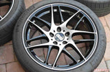 BBS - CX-R 19x8.5 5x112 35 Black w/Diamond Cut Face (CX002BPK)