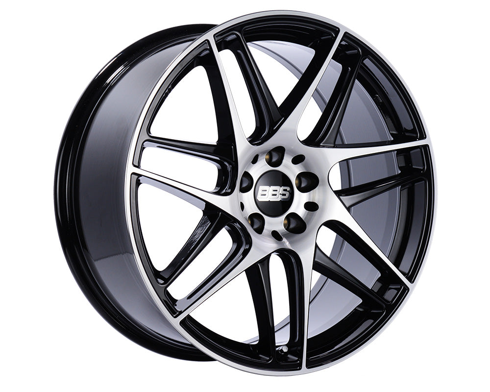 BBS - CX-R 20x9 5x112 25 Black w/Diamond Cut Face (CX006BPK)