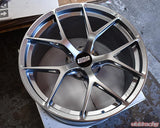 BBS - FI-R 19x9.5 5x120 22 Black Satin (FI137BS)
