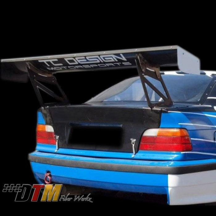DTM Fiberwerkz - BMW E36 GT Club Spec Race Spoiler Wing 66