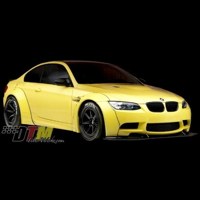 DTM Fiberwerkz - BMW E92 M3 GTR-S Rivet On Fender Flares