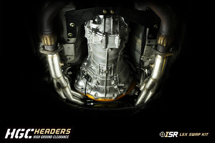 ISR Performance - Transmission Adapter LSx To 350Z CD00x 6MT 03- (IS
