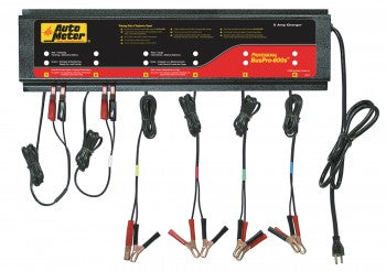 Auto Meter - BUSPRO-600S; Smart Battery Charger - 6 Channel , 120v 5 amp (BUSPRO-600S)
