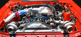 CXRacing - Twin Turbo Kit For 79-93 Ford FoxBody Mustang 5.0L Dual T04E 700 HP (TRB-KIT-MUSTANG-TT-HD-DP-T04E-WG)