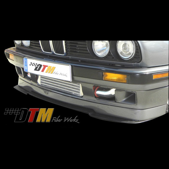 DTM Fiberwerkz - BMW E30 IS Style Front Splitter