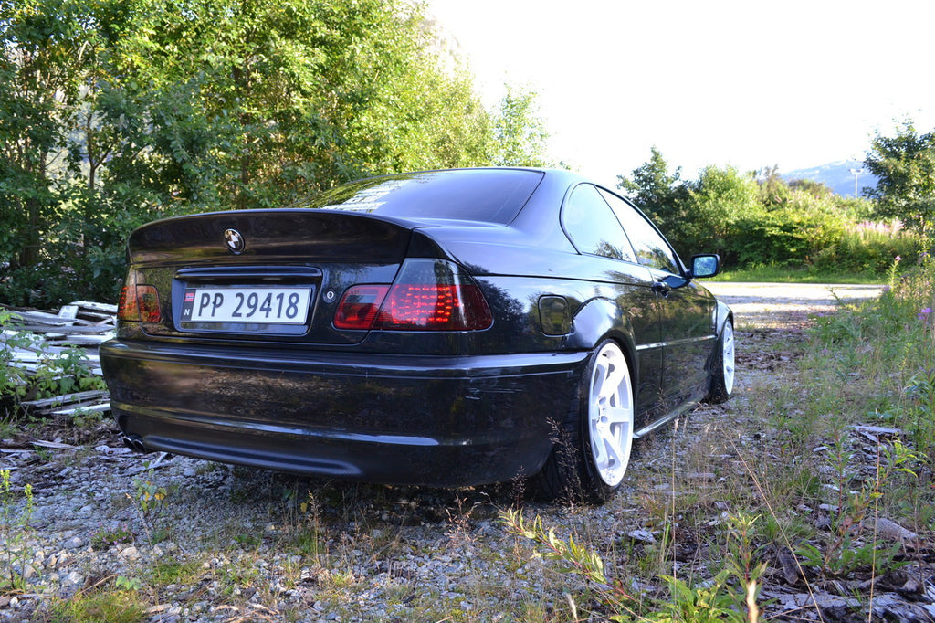 Hard Motorsport Bmw M3 Style Fender Flares For E46 Coupe Non M