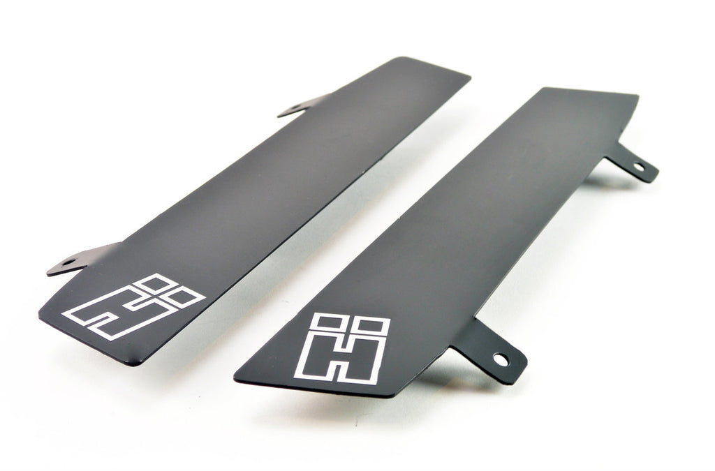 HARD Motorsport B-Pillar Wind Deflectors - PAIR - BMW E36