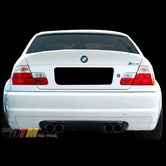 DTM Fiberwerkz - BMW E46 M3 & 2DR. CSL OEM Style CSL Trunk ( NO HANDLE)