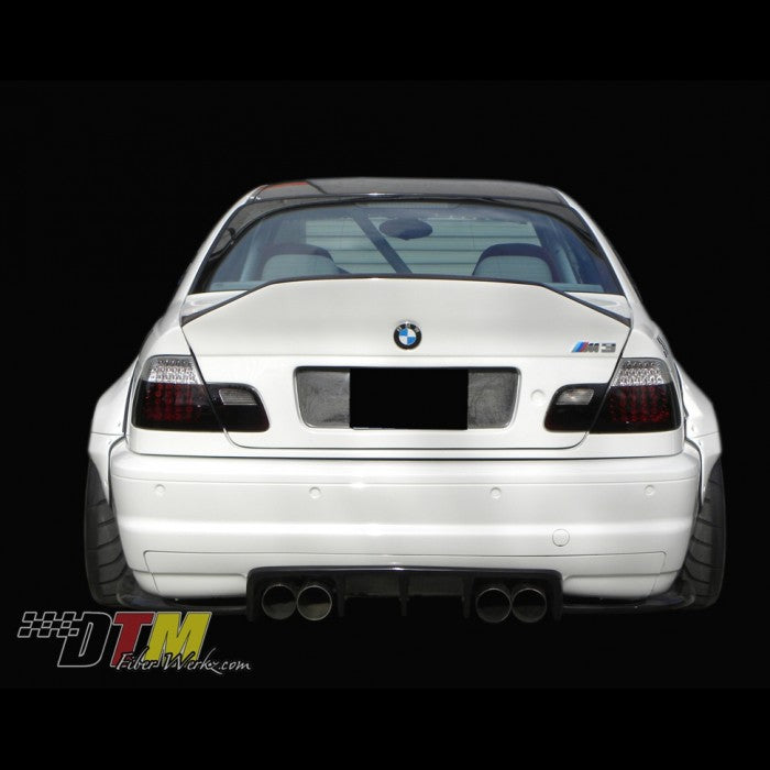 DTM Fiberwerkz - BMW E46 M3 & 2DR. DTM Style Trunk ( NO HANDLE)