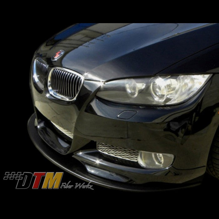 DTM Fiberwerkz - BMW E92 M-Tech Lip Front Splitter
