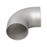 "CXRacing - 4"" STAINLESS STEEL CAST ELBOW 90 DEGREE PIPE FOR HEADER MANIFOLD EXHAUST (EB400-90-CAST-SS)"