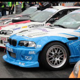 DTM Fiberwerkz - BMW E46 M3 GTR-S V2 Rivet On Fenders
