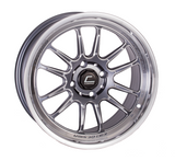 Cosmis Racing XT-206R Gun Metal w/ Polished Lip Wheel 15x8 +30mm 4x100